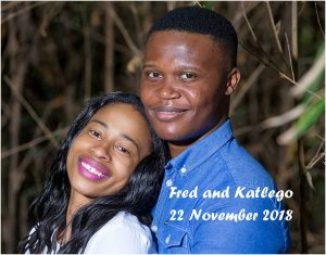 Fred and Katlego Engagement Shoot