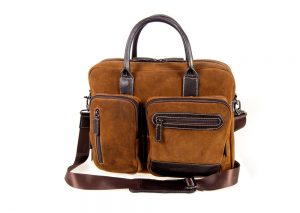 Focal Fusion Photography Brown Laptop Bag