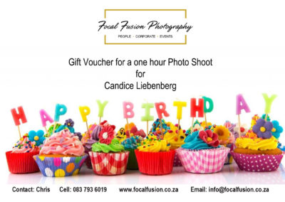 Focal Fusion Photography Photo Shoot Gift Voucher