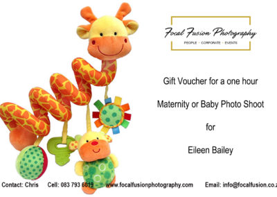 Focal Fusion Photography Maternity Photo Shoot Gift Voucher
